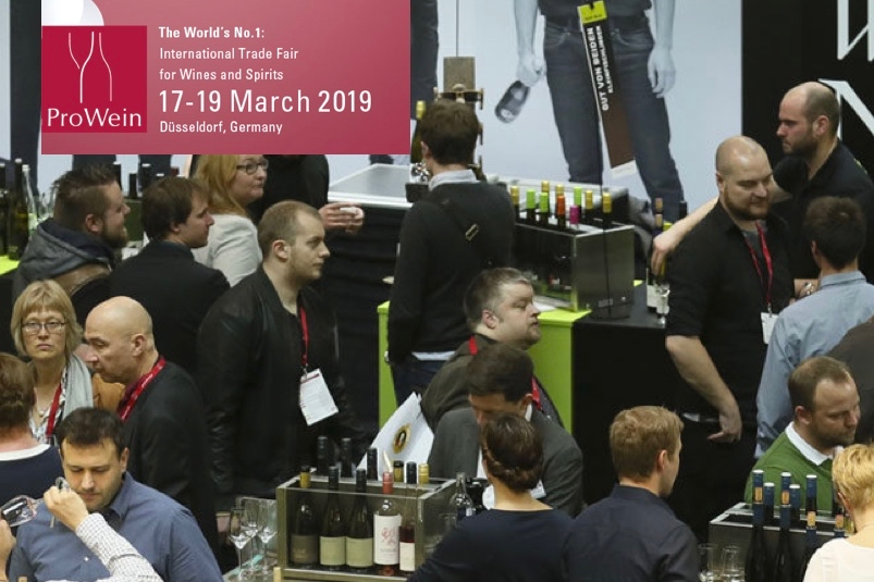 I VINI BARSENTO IN GERMANIA AL PRO WEIN  DI DUSSELDORF DAL 17 AL 19 MARZO 2019