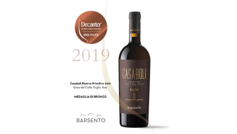Casaboli 2016 premiato al Decanter World Wide Awards