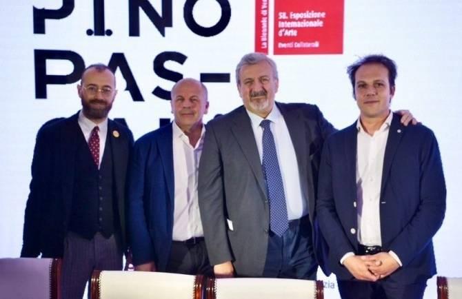 La Fondazione Pino Pascali ha scelto i nostri vini per rappresentare l'enogastronomia di Puglia alla Biennale di Venezia