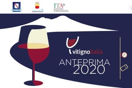 I nostri vini a Napoli per Anteprima Vitigno Italia, lunedì 25 novembre Hotel Excelsior